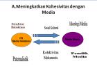 Meningkatkan Kohesivitas dengan Media